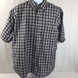 Bugle Boy Company Plaid Shirt Size XL